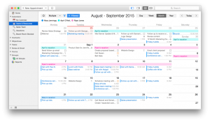 A simple, intuitive, yet powerful and shareable calendar