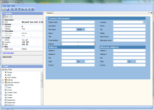Centerbase Form Designer Allows Adding and Updating Forms