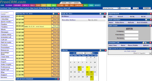 Free CRM Interface
