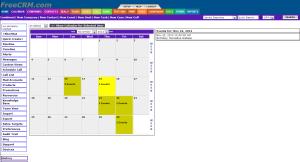 Free CRM Calendar