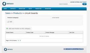 Intouch CRM Sales Module