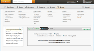 NutshellCRM - Import Step 3 - Preview
