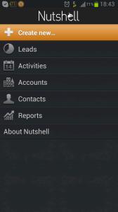 NutshellCRM - Nutshell android app