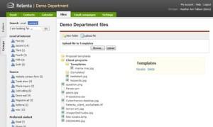 Relenta CRM - File Storage