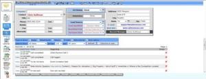 SalesNexus CRM Screen