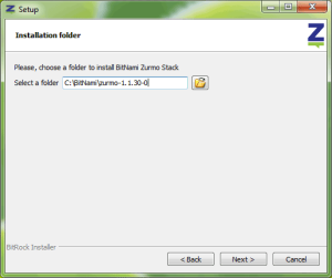 Zurmo CRM Install Step 2