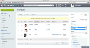 Bitrix24 CRM Contacts