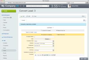 Birtix24 Lead Convert