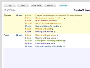 iComplete CRM Multiuse Calendar