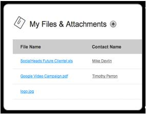 picnic-crm-files and attachments