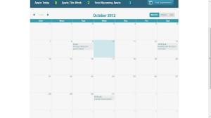Bizness crm calendar
