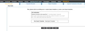 Leadmaster CRM File Verification