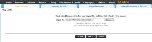 Leadmaster CRM Prepare and Upload the File