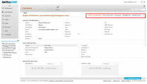 Ontraport-CRM---Contact-Information