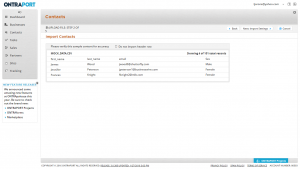 Ontraport CRM - Importing Contacts
